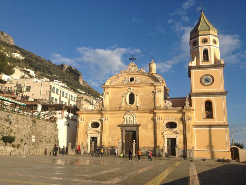 Basilica San Gennaro in Praiano.