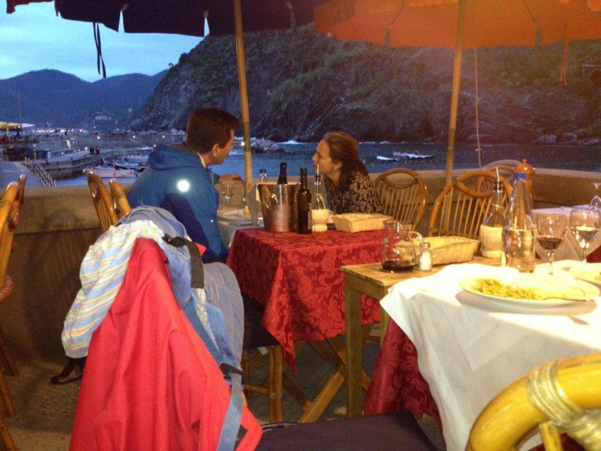 Gambero Rosso restaurant.