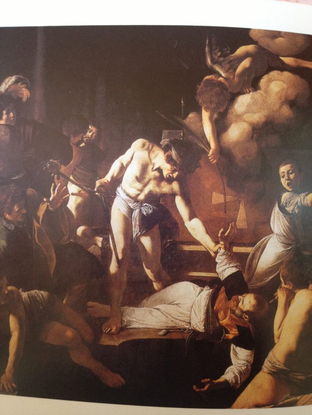 """The Martyrdom of Saint Matthew"" 1599-1600."