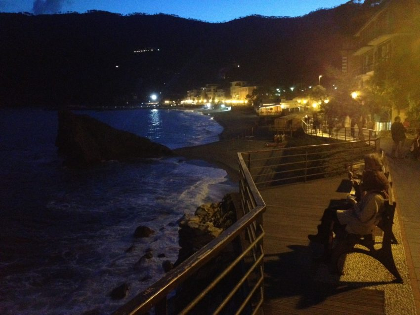 Monterosso is considered the least quaint of the five Cinque Terre towns but you wouldn't know it during an evening stroll.