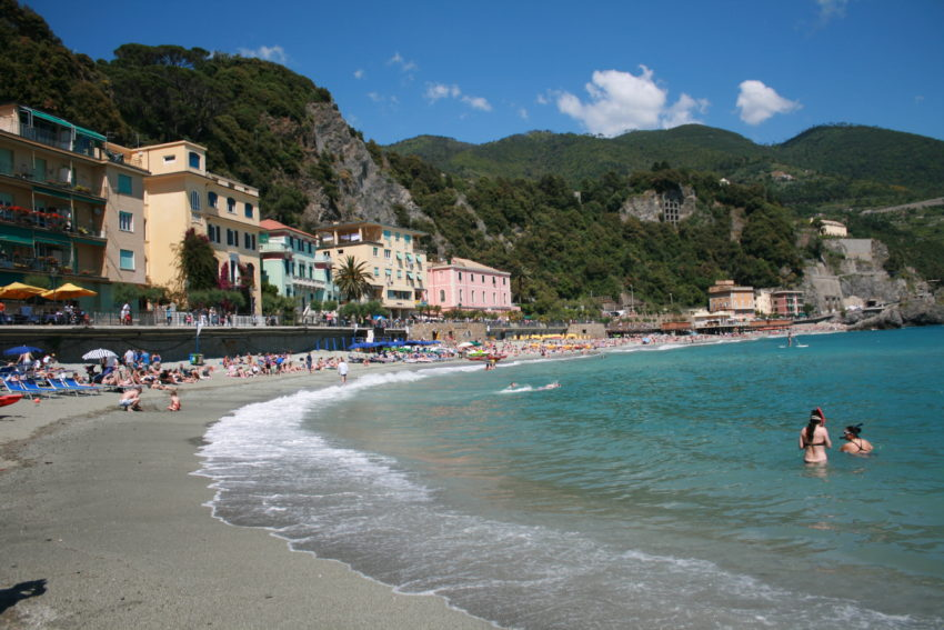 Monterosso is the only Cinque Terre town with a beach.