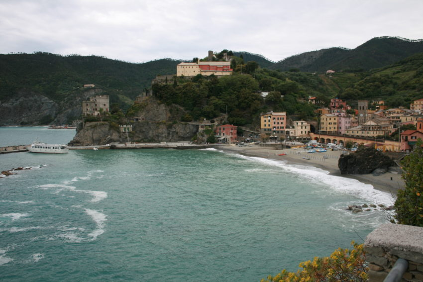 Monterosso from the Cinque Terre trail.