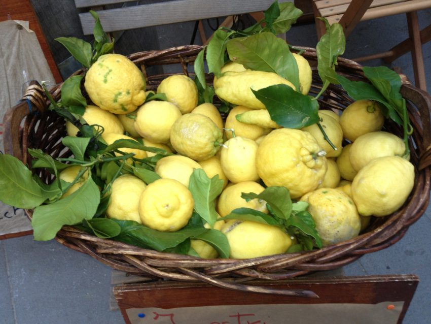 Cinque Terre has a small but yummy lemon industry.