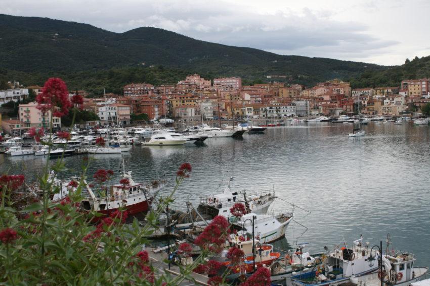 Porto Ercole, population 2,800.