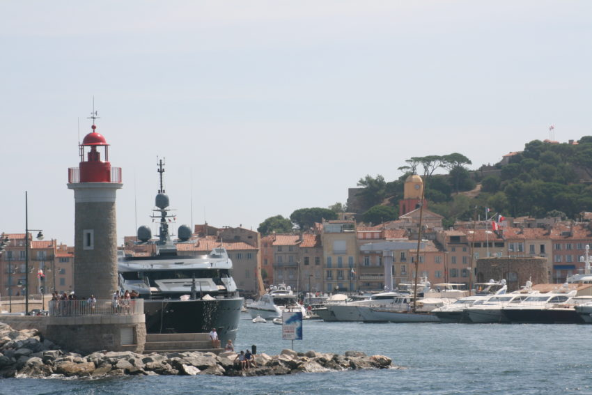 Saint-Tropez was a fishing village until the 1950s.