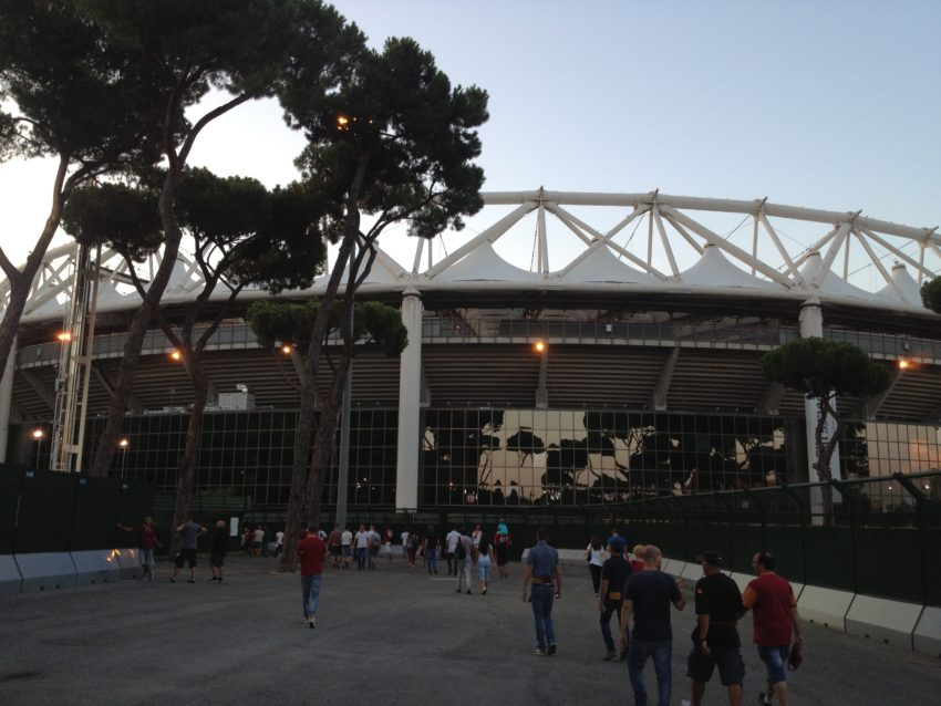 Stadio Olimpico still looks majestic after 54 years.