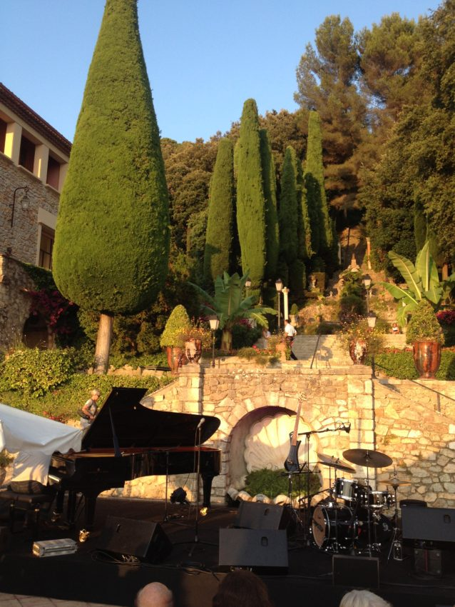 Villa Comergue, site of Cannes' jazz concerts.