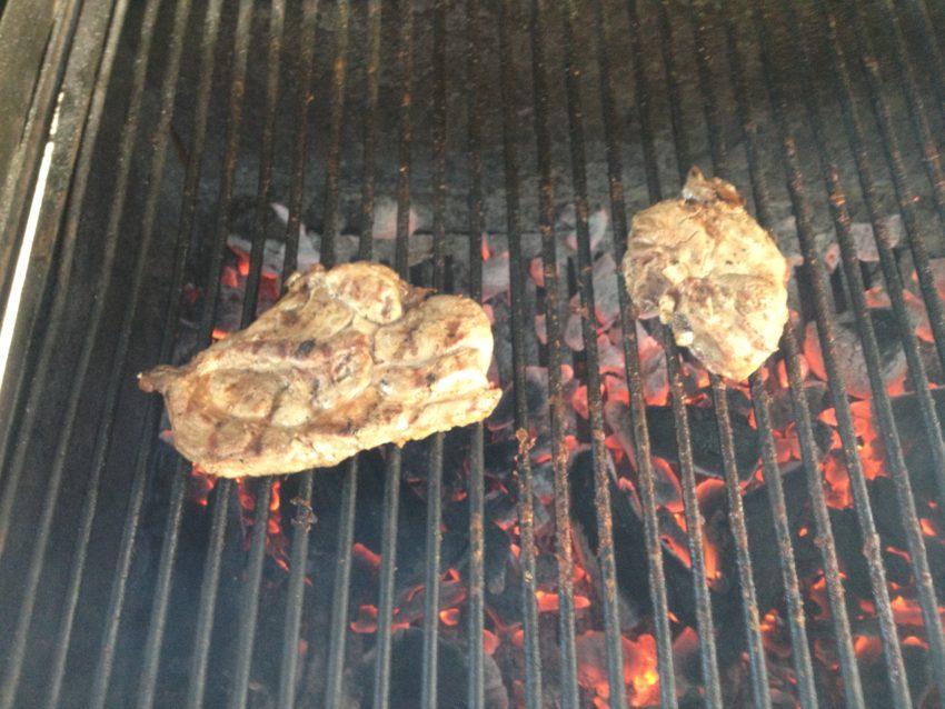 Cinghiale steaks.