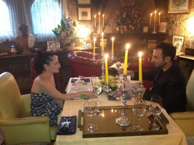 At Solo Per Due (Only For Two), couples hand pick their meals and their music in a 19th century home.