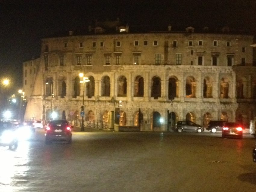 Teatro Marcello, built in 11 B.C., now has exclusive apartments.