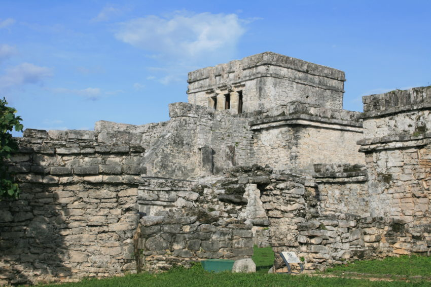 This temple was the center of Tulum's social and execution network from 1200-1500 AD.