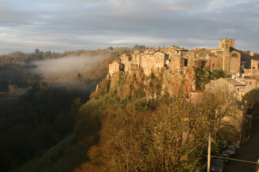 One of the prettiest hill towns in Italy, Calcata.