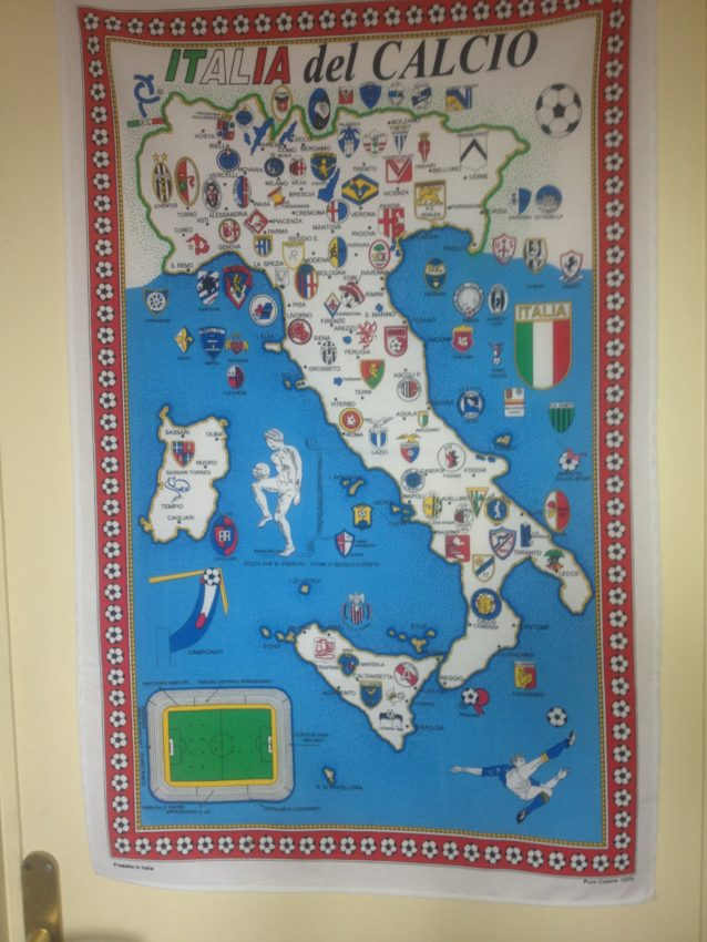 Calcio map
