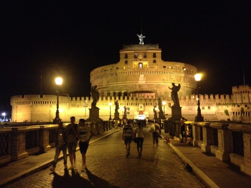 All the scandal in the ancient past can't take away from the beauty and power of Castel Sant'Angelo.