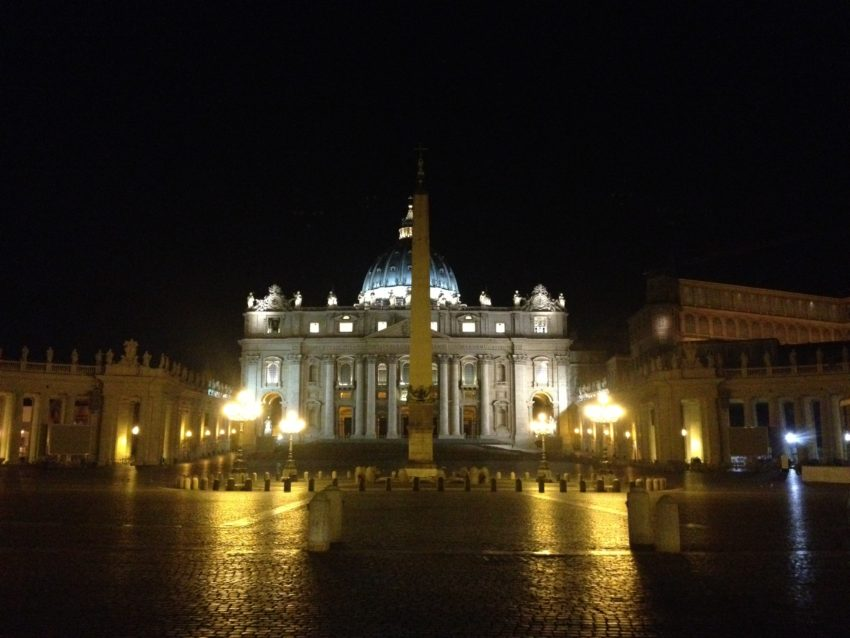 I don't care how you feel about religion. This view of St. Peter's never gets old.
