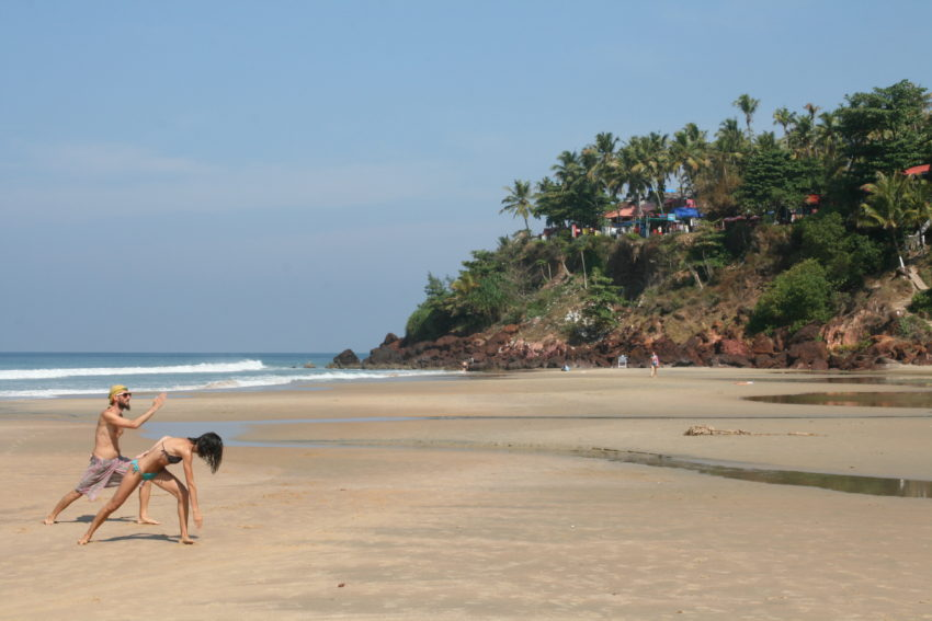 Kerala has 265 miles of coastline and the town of Varkala has one of the best beaches in India where you're never too far from a yoga studio.