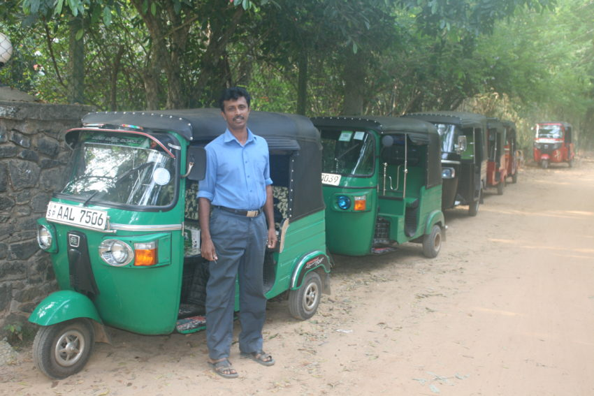 The tuktuk, my main mode of transportation for the next month.