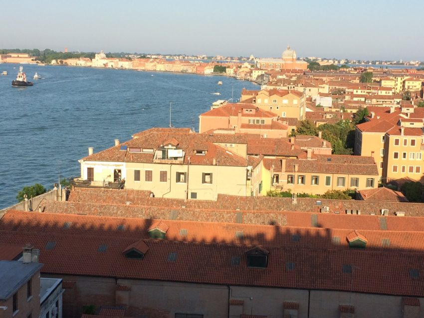 Giudecca, the southern most of Venice's 100-plus islands.