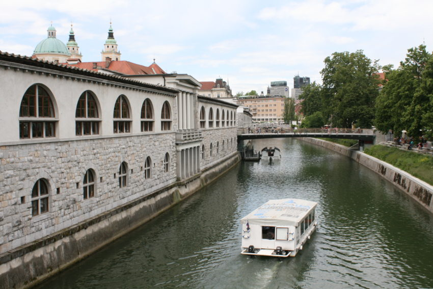 The Ljubljanica River.