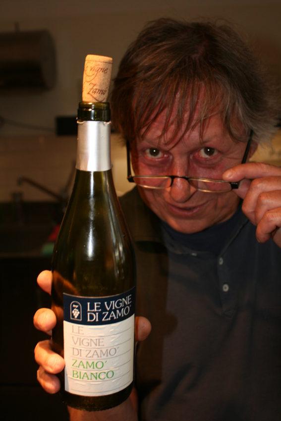 Zamo Bianco, one of Friuli's great white wines.