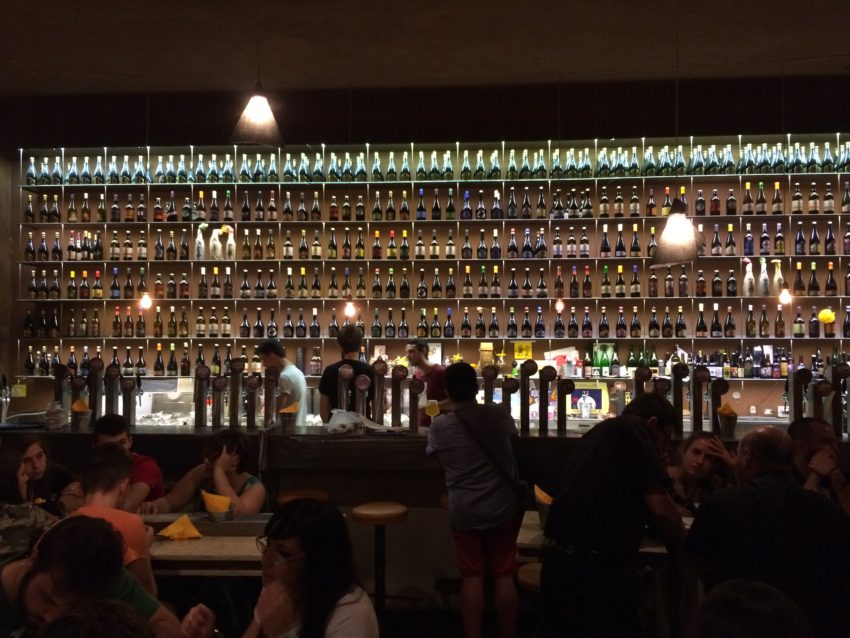 Open Baladin is one of about three dozen beer bars that have opened in Rome. There are 650 craft breweries in Italy. Eight years ago there were 70.