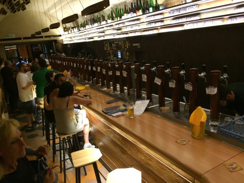 Bir & Fud rotates its 36 taps every two days.