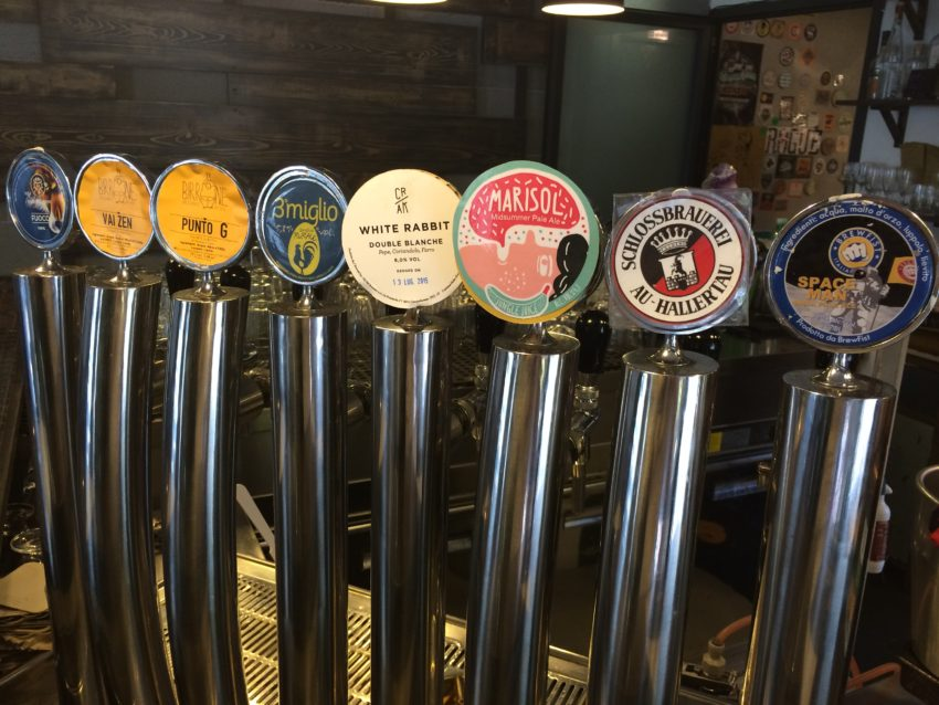 Hopificio  rotates nine beers on tap.