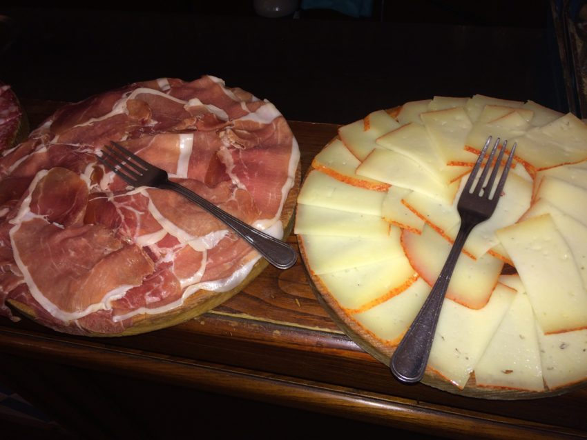 L'Oasi cheese, meats