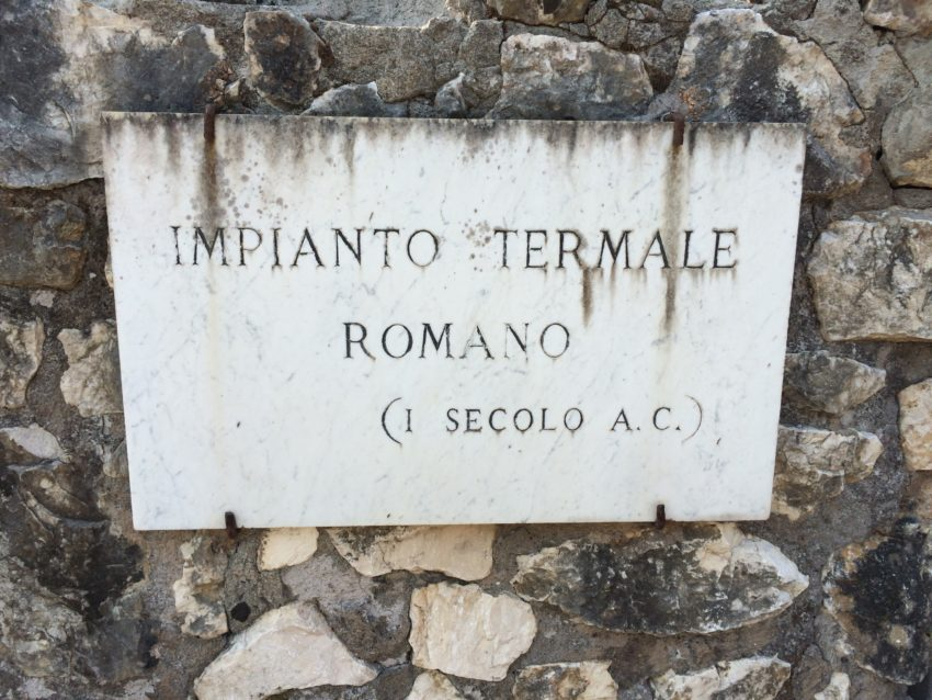 Terme sign