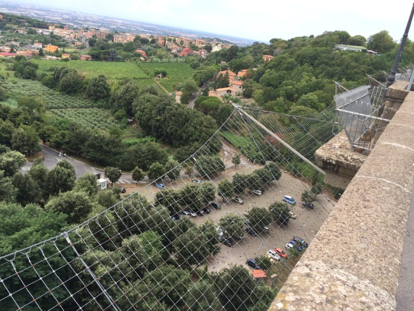 "The steel netting put around Ariccia's ""Suicide Bridge"" didn't prevent one mother and son from killing themselves in May."