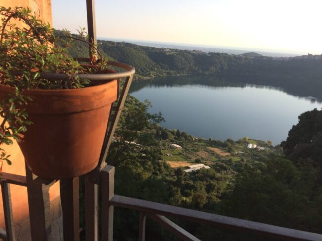 Lago di Nemi is one of the many picturesque lakes that dot the Castelli Romani region southeast of Rome.
