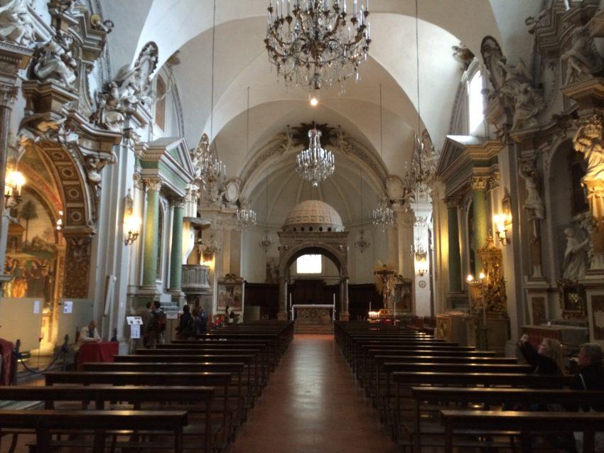 Spello's 12th century Chiesa di Santa Maria Maggiore.