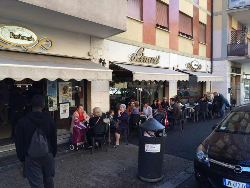 My neighborhood cafe, Linari, has been around for 44 years.