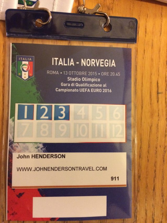 Norway-Italy pass