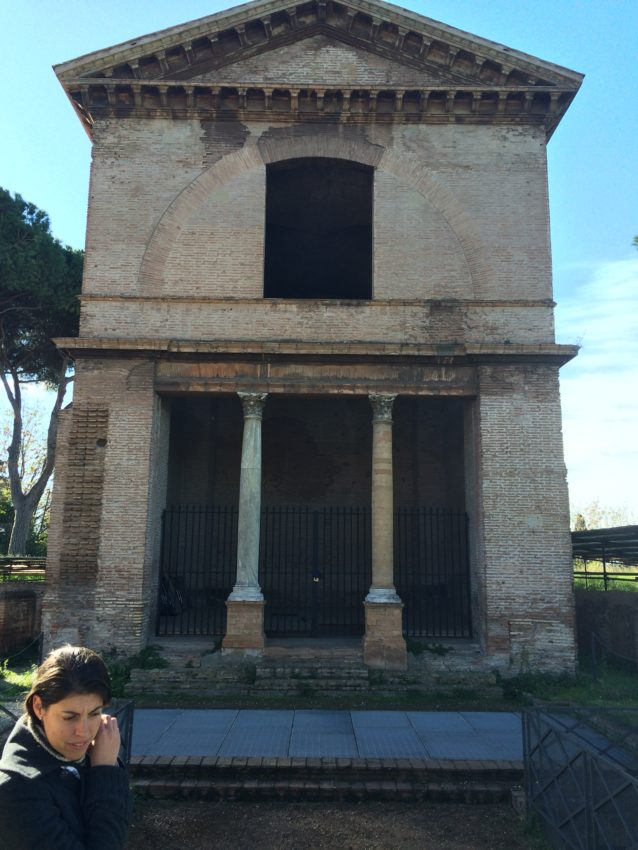 Tomb of the Valerii family who date back to the 8th century B.C.