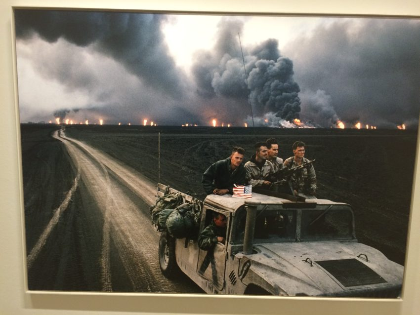 War at the Musee Europeene de la Photographie.