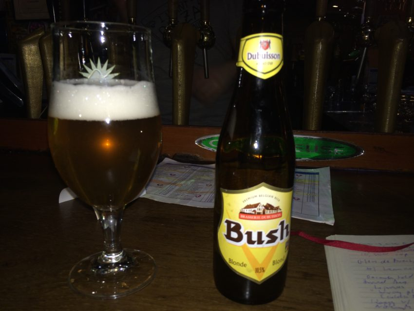 Bush Blonde is 10.5 percent alcohol.