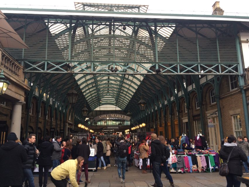 Covent Garden Market has been around since 1654 and very expensive.