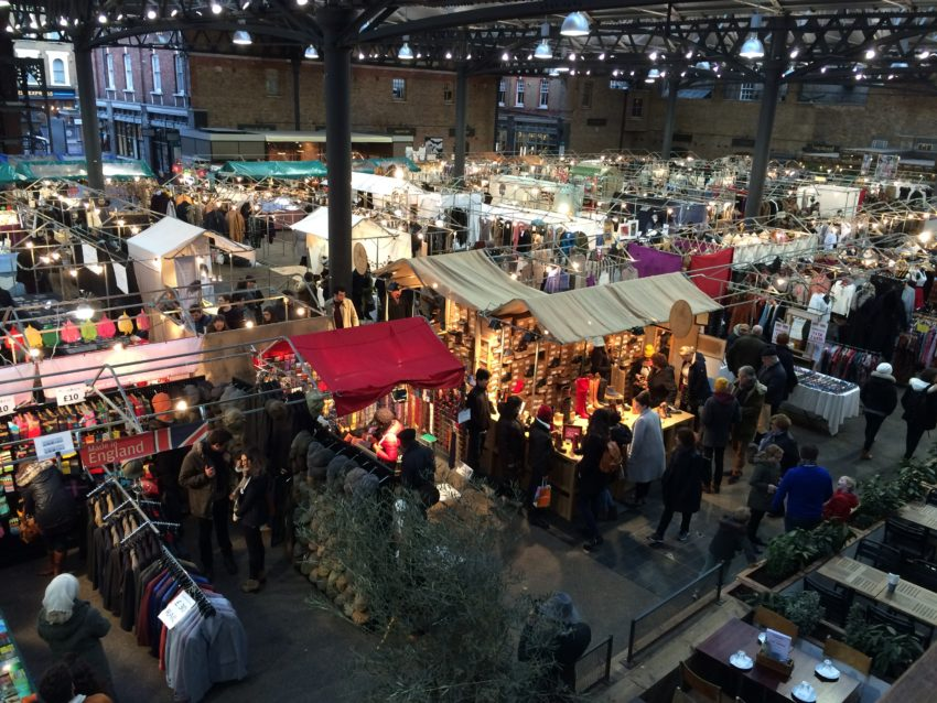 Old Spitalfields Market has been around since 1887.