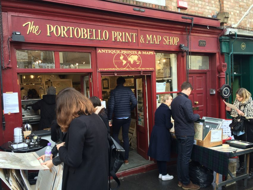 Portobello Map Shop