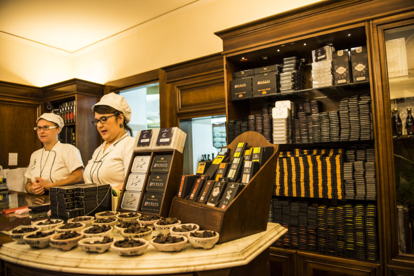 Bonajuto is the oldest chocolate shop in Sicily, started in 1880. Photo by Marina Pascucci.