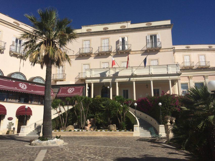 Grand Hotel Villa Politi was Winston Churchill's base during the Allied invasion of Italy.