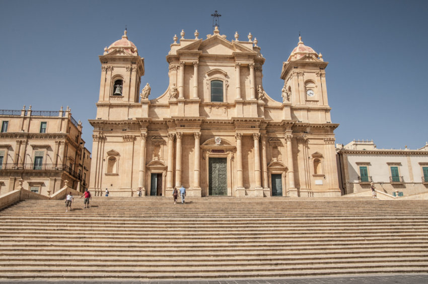 Noto's Chiesa di San Domenico is an example of the Baroque architecture that began during the Italian Renaissance in the 16th century and spread around the world. Photo by Marina Pascucci.