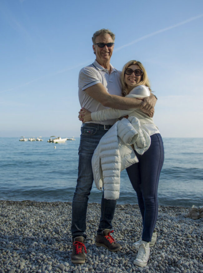 Every anniversary is worth celebrating in Positano, even a first date. A year ago April 29 Marina Pascucci and I had ours.