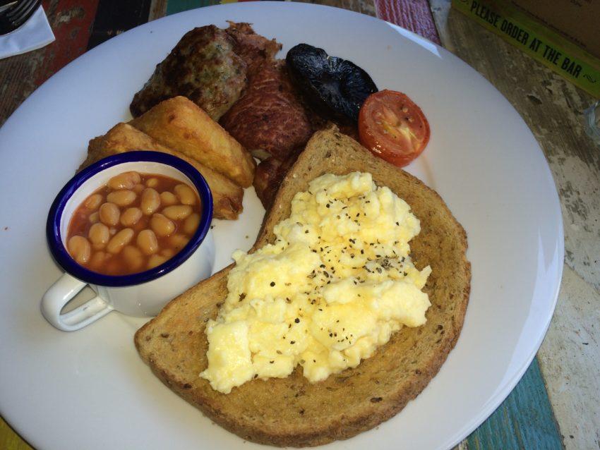 The Lounge Breakfast.