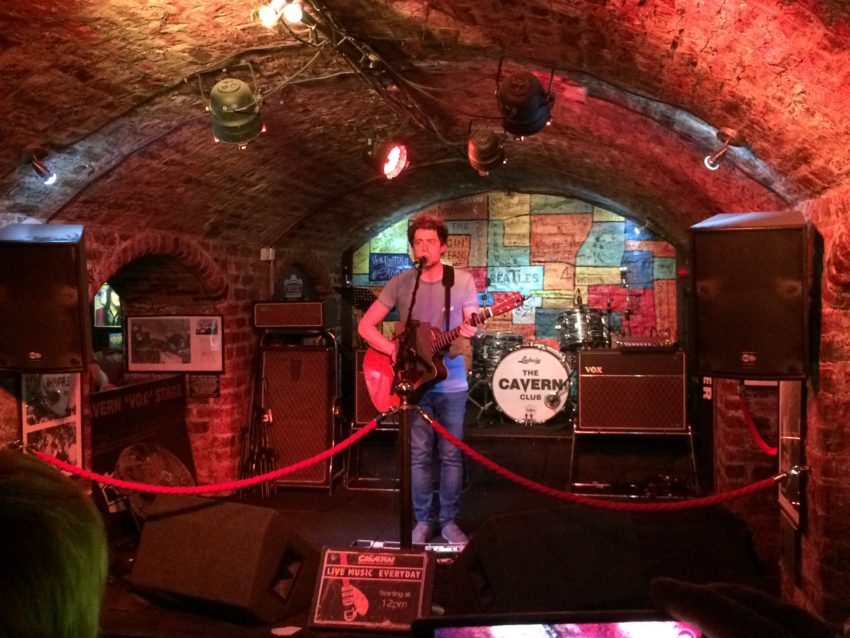 The Cavern has live music from noon to midnight on weeknights and until 1:30 a.m. on weekends.