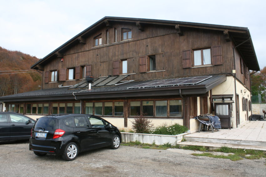 Il Rifugio Colle Le Cese was 58 euros a night per person.