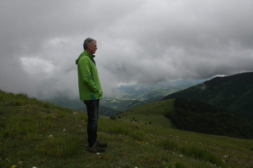 Only three hours from Rome, Monti Sibillini is a great place to be alone.