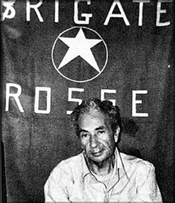 Aldo Moro after his kidnapping by the Red Brigades.