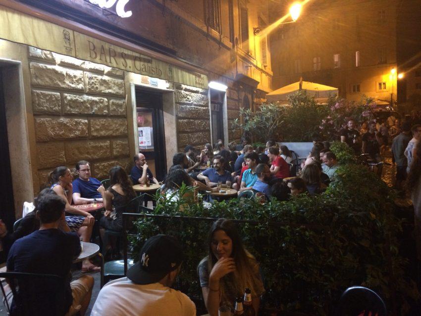 Bar San Calisto.